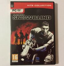 Jeu PC FPS PROJECT SNOWBLIND