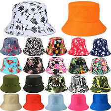 Unisex Bucket Hat Hunting Fishing Outdoor Beach Camping Wide Brim Sun Visor Caps
