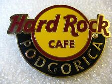PODGORICA,Hard Rock Cafe,MAGNET,Round Logo NOT Opener