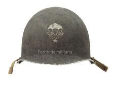 Casque M1-C 1er RCP WW2 (matériel original)