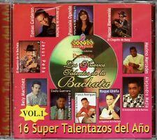 Los Nuevos Talentos de La Bachata Vol 1 16 Super Talentazos  BRAND NEW SEALED CD