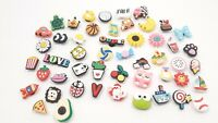 50 New Random Crocs Charms Compare  to Jibbitz Emoji Fast Shipping
