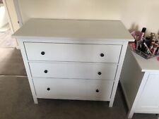 Ikea Hemnes Chest Of Drawers 3 White