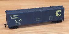 Genuine Chessie System C & O (26959) Blue Box Car Train Piece Only **READ**