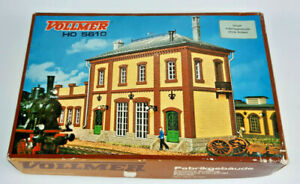 VOLLMER 5610 FACTORY BUILDING KIT VERY GOOD CONDITION BOXED HO GAUGE(TU)