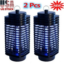 2Pack Electric Mosquito Fly Bug Insect Zapper Killer Trap Pest Control Led Lamp