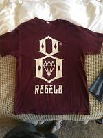 Rebel Eight 8 Standard Edition Logo Graphic Maroon T-Shirt Men's L