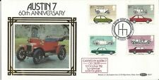 GB 1982 Cars on Benham (BLS7) Illustrated First Day Cover in fine condition.