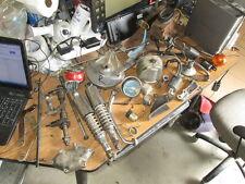 74 Honda CB350 Four Shocks Brake Hub Brake Pedal Horn Axle Tachometer Parts Lot