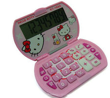 Hello kitty Super cute student calculator