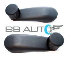 2 NEW Manual Window Crank Handles Black for Cobalt Cavalier Grand Am Sunfire