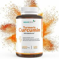 Turmeric Curcumin Supplement [ 1400 Mg ] By Aava Labs 95% Curcuminoids