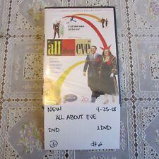 brand new Darryl F. Zanuck presents All About Eve Dvd- Bette Davis 0925