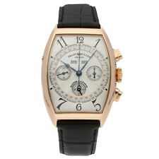 Franck Muller Master Calendar 18k Yellow Gold Chronograph Mens Watch 6850 CC MC