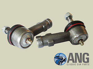 """JENSEN 541R '57-'60 GREASEABLE TRACK ROD ENDS (5/8"""" TIE RODS) x 2"""