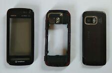 100% Genuine Nokia 5800 fascia housing battery cover  black red
