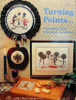 June Grigg Cross Stitch Pattern TURNING POINTS For Life's Important Occasions 21