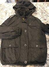 Burberry Girls Rain Jacket Black Size 10
