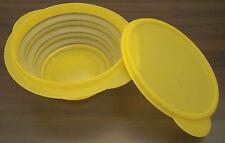 Tupperware B 36 MiniMax Mini Max 700 ml Dose Behälter + Deckel gelb faltbar Neu