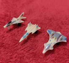 MICRO MACHINES LOT OF THREE, SR-71, MIG-21, F-19 STEALTH FIGHTER