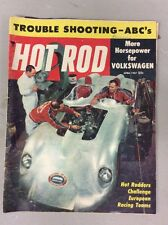 April 1957 Hot Rod Trouble Shooting ABC's More Horsepower For Volkswagen