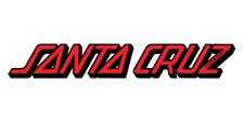 Santa Cruz Classic Strip Skateboard Sticker 5in si Red