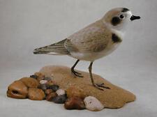 Semipalmated Plover Original Bird Wood Carving