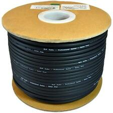 GLS Audio Professional Grade Bulk Balanced XLR Microphone Cable, Black, 10 Feet
