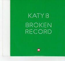 (FT356) Katy B, Broken Record - 2011 DJ CD