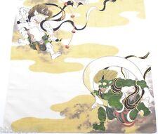風呂敷 FUROSHIKI - Imprimé à la main - Fujin et Raijin - Made in Japan