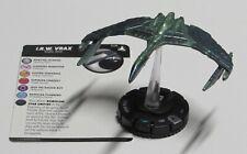 I. R.w. Vrax #028 Star Trek Tactics 4 IV WizKids Heroclix Rare Romulan