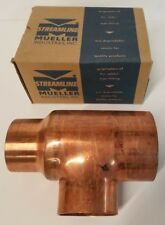 Mueller Industries Copper Reducing Tee 4Cx3Cx3C W 40206 4-18 x 3-1/8 x 3-1/8