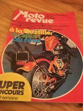 MOTORRAD REVIEW 74 No. 2156 Zündapp 125 Kawasaki 250 KX Phil Read Salon Paris