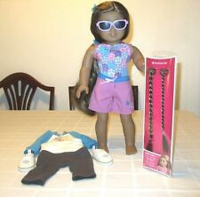"AMERICAN GIRL 18"" Kanani DOLL -  GIRL OF THE YEAR - 2011, Very Pretty"