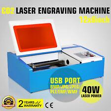 High Precise 40W CO2 Laser Engraver Machine MACCHINA PER INCISIONE A LASER