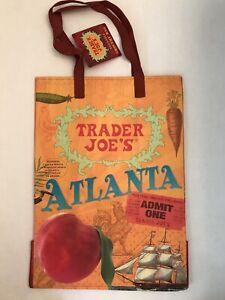 Trader Joes Reusable  ECO Shopping Tote Bag - Atlanta