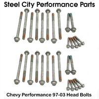 Chevy Performance 97-03 LS Cylinder Head Bolts Kit - 4.8/5.3/5.7/6.0