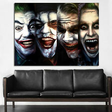 Poster Wall Mural Joker Batman Pop Art 35x47 inch (90x120 cm) on Canvas