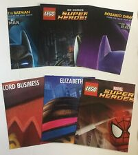 New lego posters lot -  Lego  spiderman - Lego batman - lego muvie