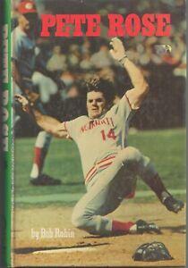 Pete Rose by Bob Rubin HB 152 Pages ~ Vintage ~ Cincinnati Reds ~ Nice!