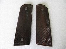 New Grip For Colt 1911 Full Size Kimber Clones All Checkered With Frame Wood