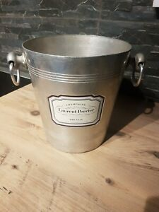 Laurent Perrier Brut 1970s Vintage French Champagne Ice Bucket Cooler Rare