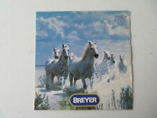 Breyer 1987 Small Collector's Manual from inside the Breyer Boxes.