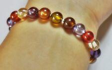 Bracelet Nok Phra Gow Lucky Gems Naga Eye Crystal Real Thai Amulet 1.6 cm #R47