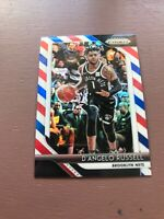 D'Angelo Russell Cleo Card: 2018-19 Panini Prizm Basketball