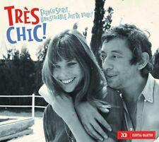TRES CHIC - FRENCH SPIRIT... UNMISTAKABLE JOIE DE VIVRE!  2 CD NEUF