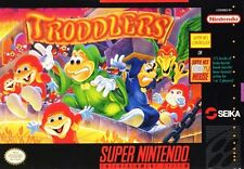 Troddlers SNES Great Condition Fast Shipping