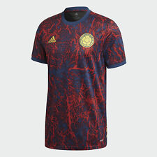 Adidas 2021-22 Colombia Training Jersey - Red-Blue