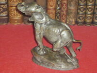 """[BRONZE ANIMALIER] SUPERBE BRONZE ANCIEN / FREMIET """"Eléphant attaché"""" Très Rare"""
