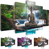 Landscape Buddha Zen Painting Canvas Print Modern Art Picture Home Wall Decor